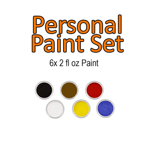 Acrylic Paint - Personal Set - 6 2oz colours