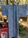 ANTIQUE KIMONO AK-458 (USED)  TYPE: KOMON, AWASE, Non Silk