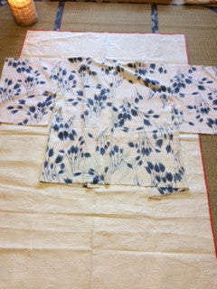 アンティーク 羽織 正絹 Antique Kimono  (Vintage - Used) AH-005 Type: Haori,  Made of Silk