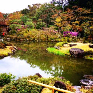 Kimono Tour & Activity in Nara Park: Tea at Japanese Garden (Tour Code: IS-003)