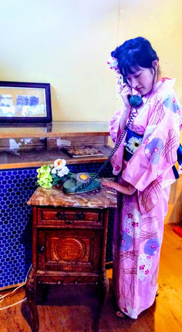 Y-007 - Rental YUKATA (Not for Resale)