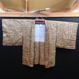 羽織(袷) ANTIQUE  HAORI  AH-699  USED,Silk