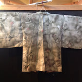 羽織(袷)  ANTIQUE  HAORI  AH-691  USED,Silk