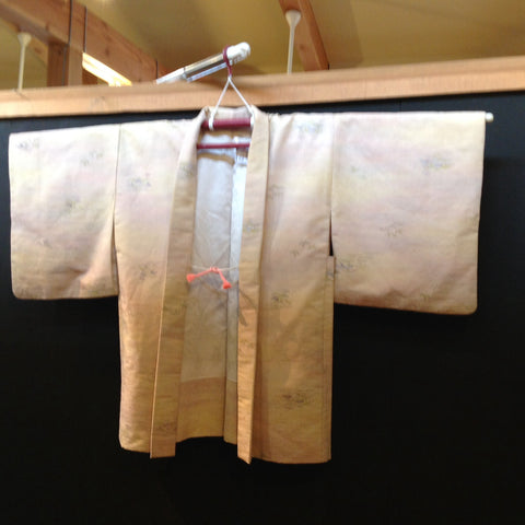 羽織(袷) ANTIQUE HAORI AH-671 USED,Silk