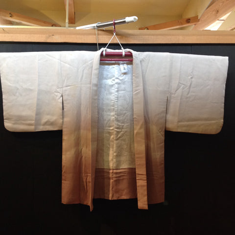 羽織(袷)  ANTIQUE  HAORI  AH-688  USED,Silk