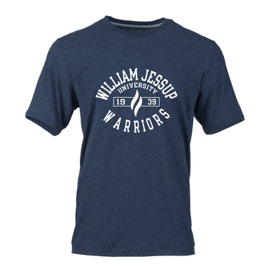 Russell Essential Short Sleeve Tee, Navy Heather