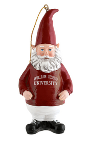 Spirit Products Gnome Ornament, Burgundy