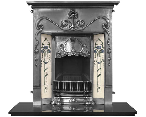 Carron Valentine Cast Iron Combination Fireplace