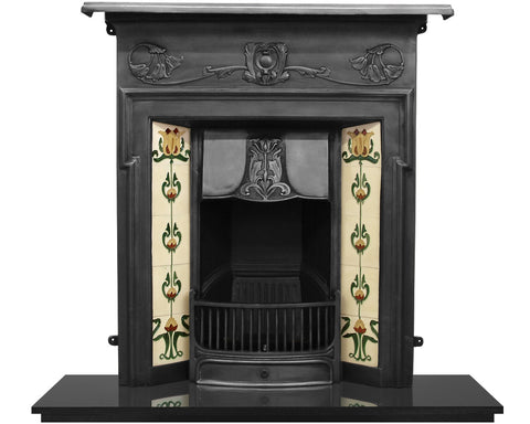 Carron Morris Cast Iron Combination Fireplace