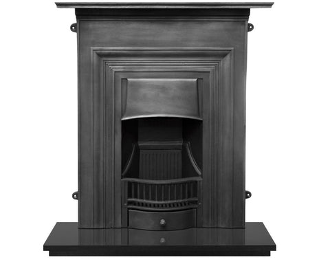 Carron Oxford Cast Iron Combination Fireplace