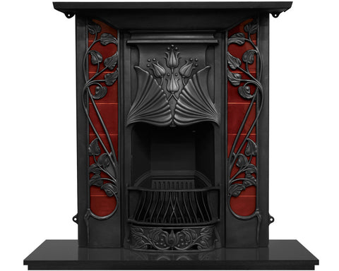 Carron Toulouse Cast Iron Combination Fireplace