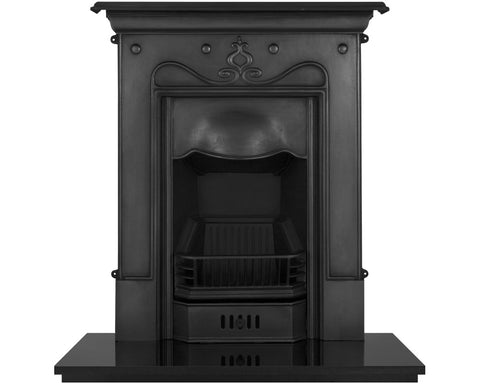 Carron Tulip Cast Iron Combination Fireplace