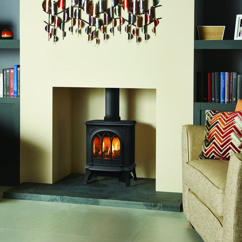Gazco Huntingdon 20 (Matte Black) Traditional Gas Stove