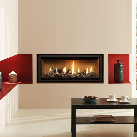 Gazco Studio 2 Glass-Fronted Gas Fire - Driftwood Effect