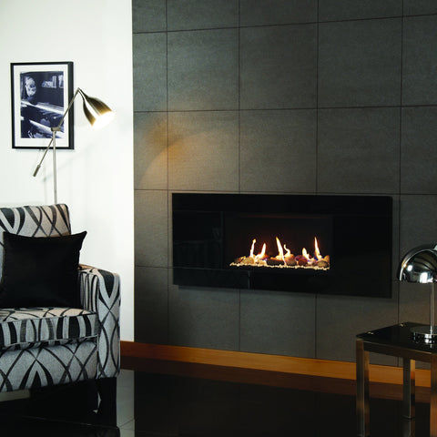 Gazco Studio 1 Glass Fronted Gas Fire - Driftwood Effect