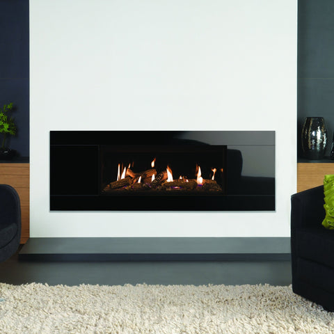Gazco Studio 2 Glass Open Fronted Gas Fire