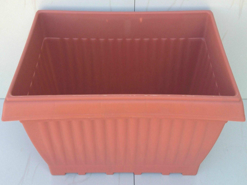 Rectangle pots (Plastic, 1 foot length) - UrbanMali Network