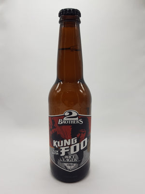 2 Brothers - Kung Foo Rice Lager 4.6% 330ml
