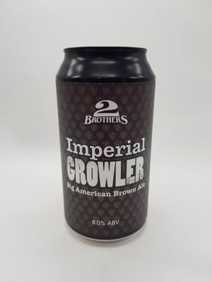 2 Brothers - Imperial Growler American Brown Ale 8% 375ml