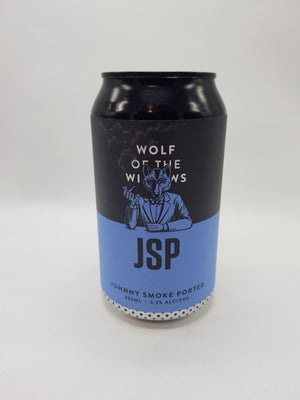 Wolf of the Willows - Johnny Smoke Porter 5.2% 355ml