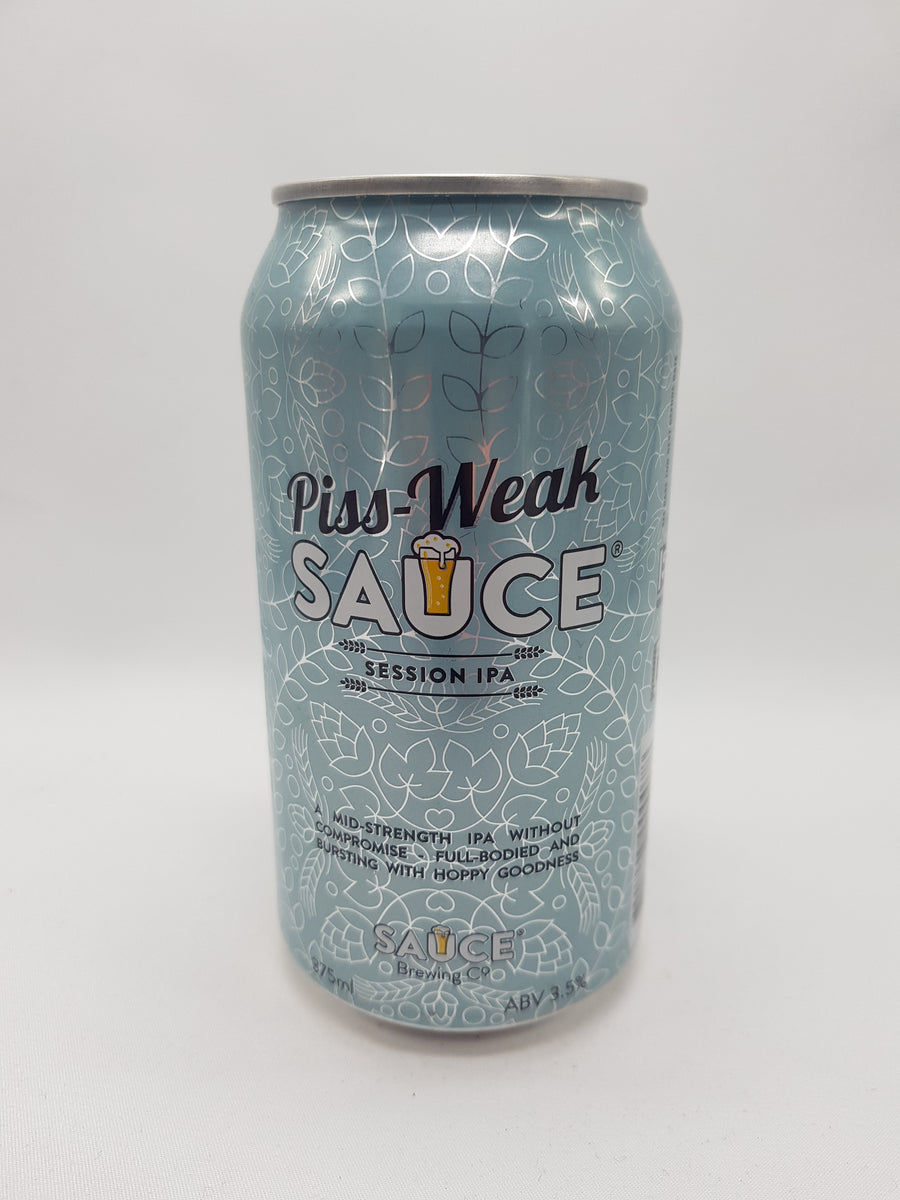 Sauce - Piss Weak Sauce Session IPA 3.5% 375ml
