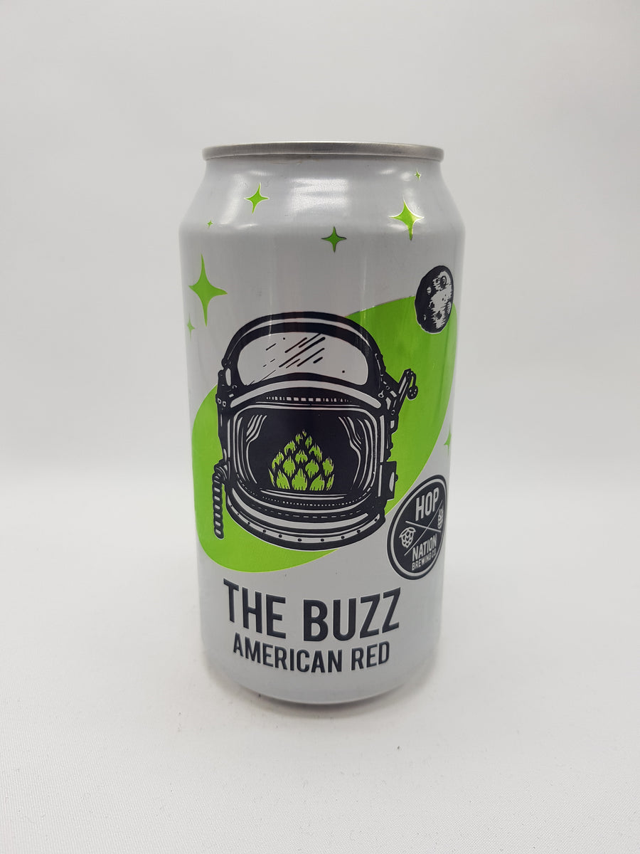 Hop Nation - The Buzz American Red 6% 375ml Can