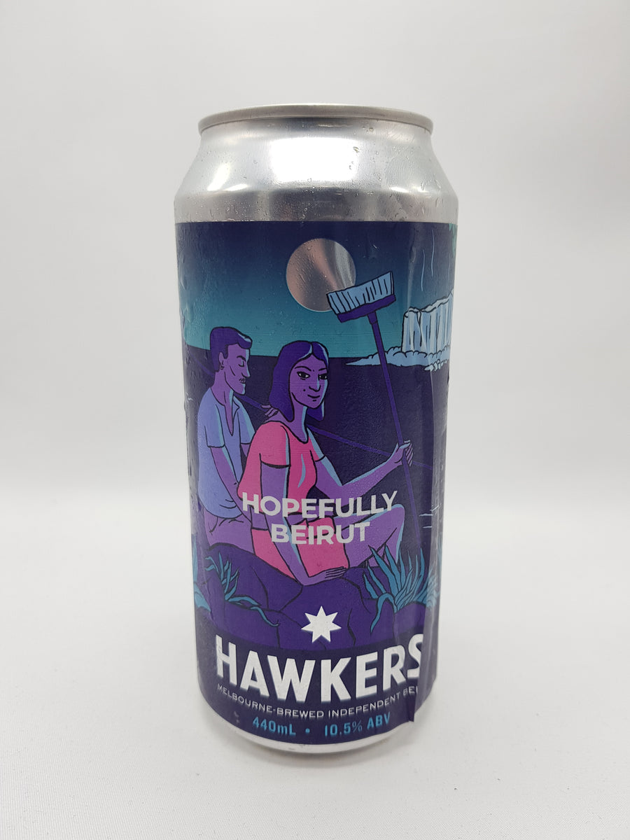 Hawkers - Hopefully Beirut Baklava Barley Wine 10.5% 440ml