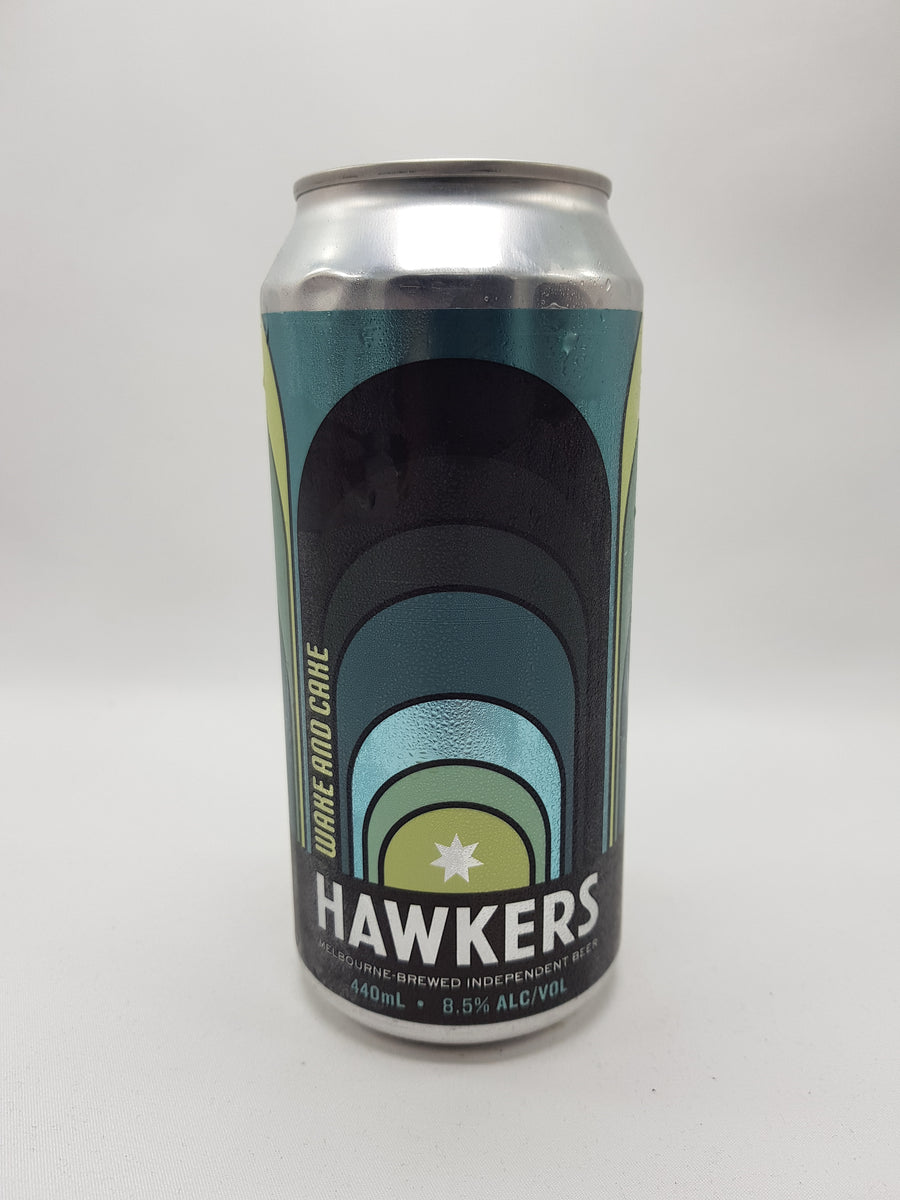 Hawkers - Wake and Cake Pastry Stout 8.5% 440ml