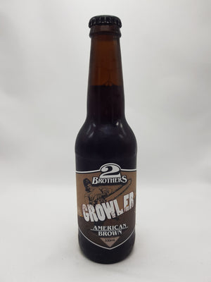 2 Brothers - Growler Brown Ale 4.7% 330ml