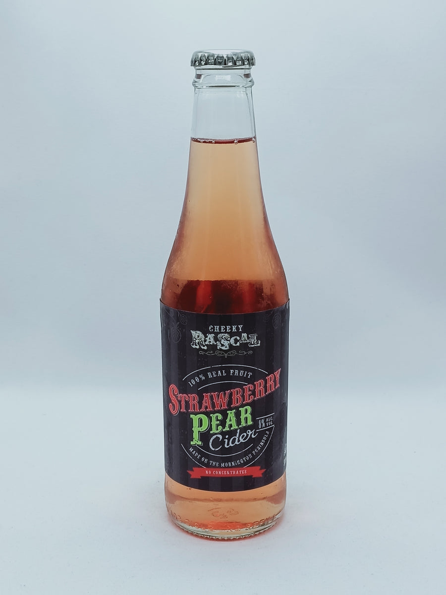 Cheeky Rascal - Strawberry & Pear Cider 8% 330ml
