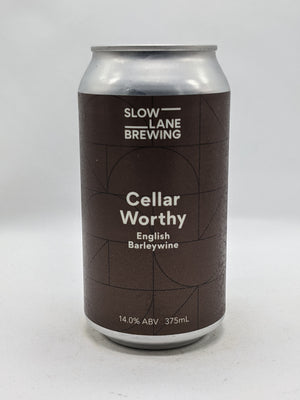 Slow Lane - Cellar Worthy Barleywine 14% 375ml
