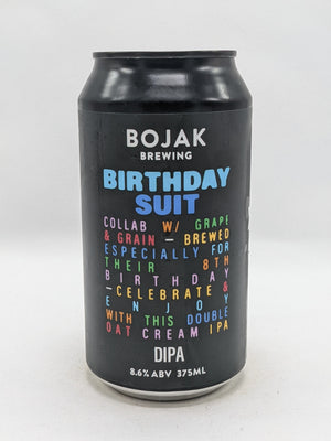 Bojak - Birthday Suit DIPA 8.6% 375ml