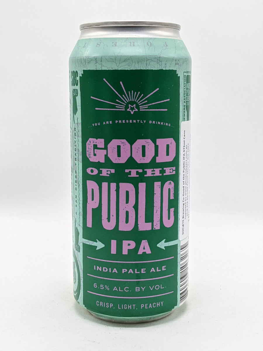 Societe - The Good Of The Public IPA 6.5% 473ml
