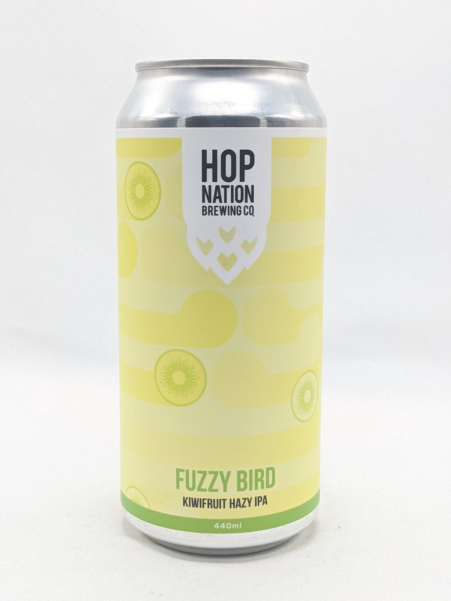 Hop Nation - Fuzzy Bird Kiwifruit Hazy IPA 6% 440ml