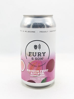 Fury & Son - Passionfruit & Guava Imperial Sour 7% 375ml