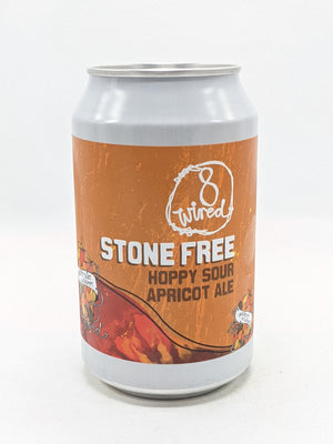 8 Wired - Stone Free Hoppy Apricot Sour 4.5% 330ml
