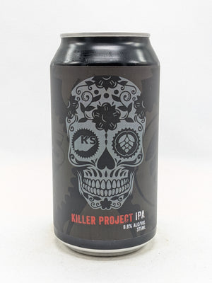 Killer Sprocket X Project Brewing - Killer Project IPA 6.8% 375ml