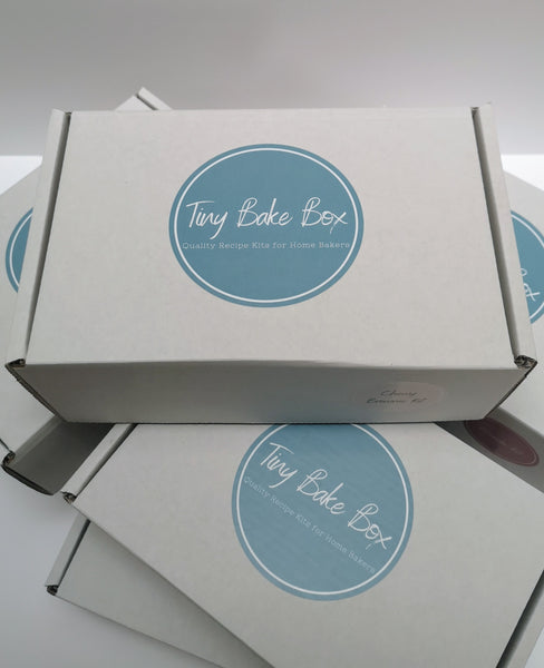 Tiny Bake Box Recipe Box - Shipping and Handling. Each Tiny Bake Box is packed and shipped via Royal Mail from London within 1-2 working days. Once shipped, estimated delivery is 1-2 days within mainland UK.