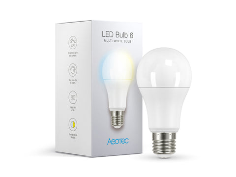 LED Bulb 6 Multi-White (ZWA001)