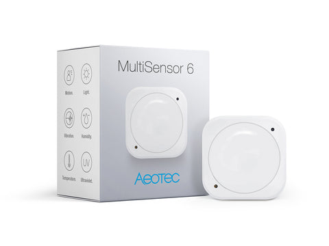 MultiSensor 6 with one battery (ZW100-C00W)