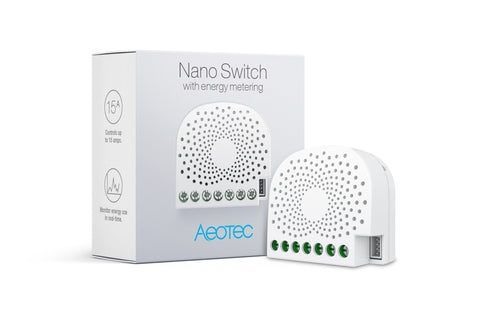 Nano Switch with Energy-Use Metering (ZW116)