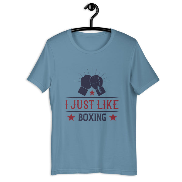 I just like boxing