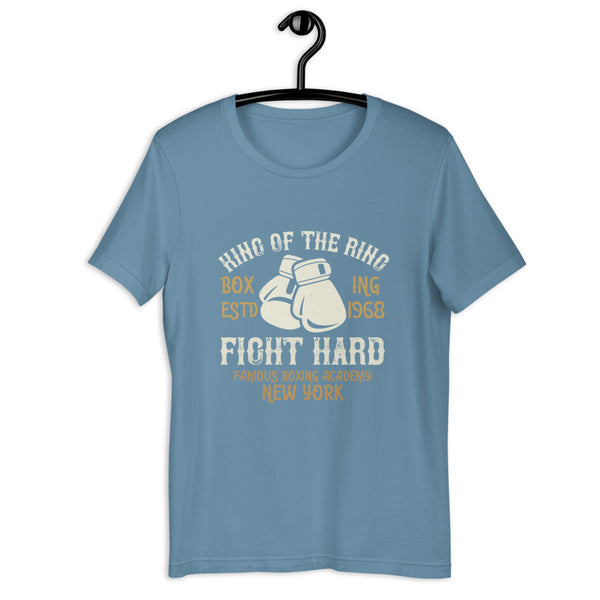 King Of The Ring Boxing Estd 1968 Fight Hard Famous Boxing Academy New York
