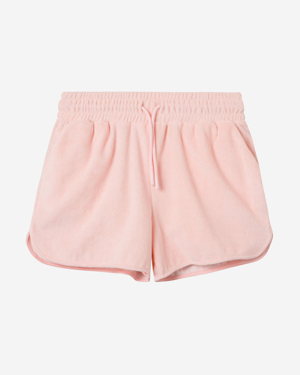 Terry Low Shorts Light Pink
