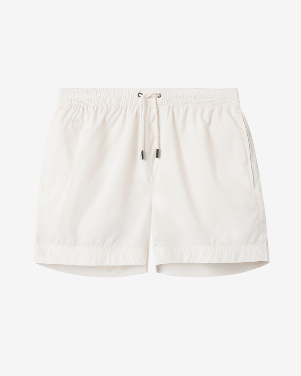 Plain cream white swimtrunks