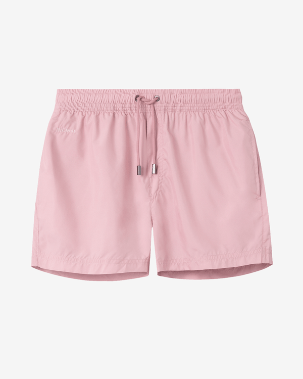 Plain pink swim trunks