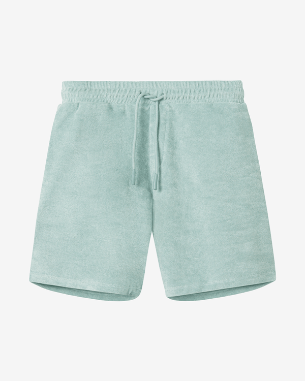 Terry Shorts Grey-Green