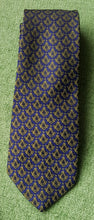 Load image into Gallery viewer, Masonic Blue & Gold Tie