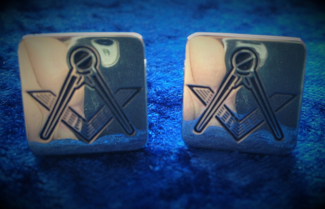 Men's Masonic Cufflinks