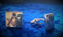 Load image into Gallery viewer, Men's Masonic Cufflinks